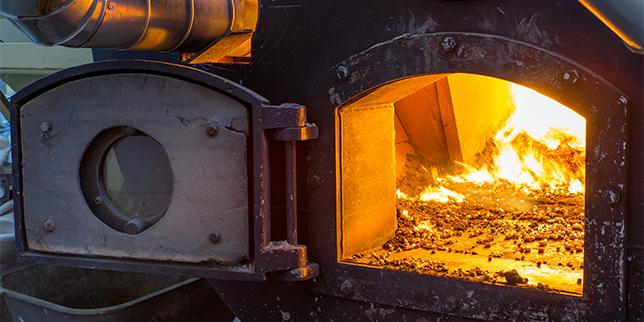 Отоплителни системи на биомаса