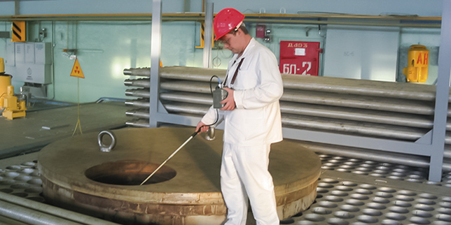 Поддръжка на подземни тръбопроводи и резервоари в АЕЦ