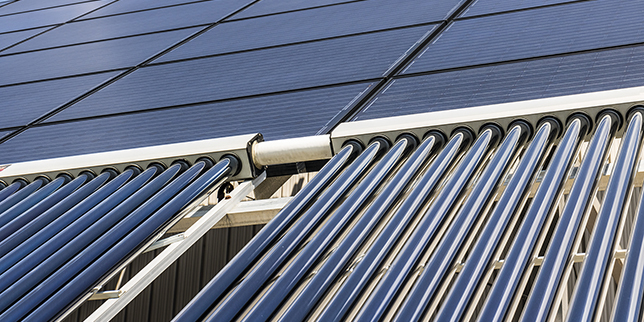 Използване на възобновяема енергия в системите за централно отопление