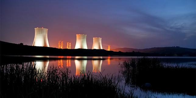 Осветление за ядрени съоръжения