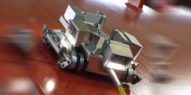 Приложение на роботи в ядрени централи