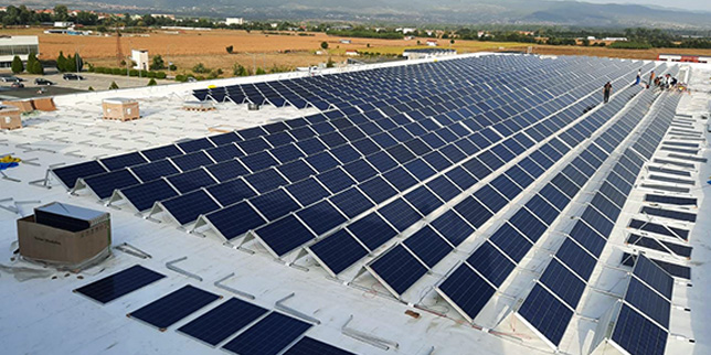 645 kWp фотоволтаична централа в Пирин Текс ЕООД