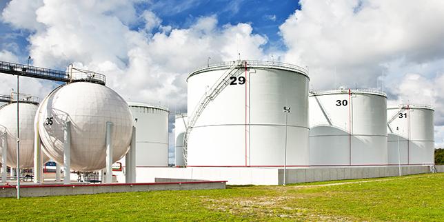 Резервоари за съхранение на нефт