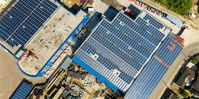 Соларни централи за промишлени обекти