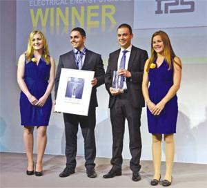 Интернешънъл Пауър Съплай спечели наградата ЕЕS Award на Intersolar Europe 2014
