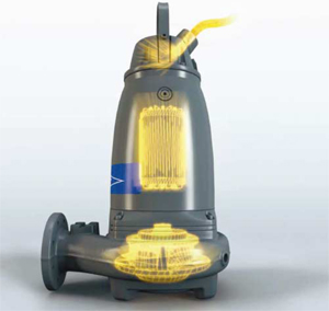 Ефективността на помпите се осигурява от високо ефективна хидравлика
