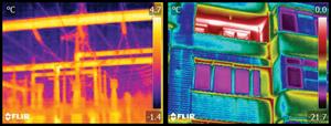 Термографската диагностика позволява навременно откриване на проблемни зони, дефекти и повреди