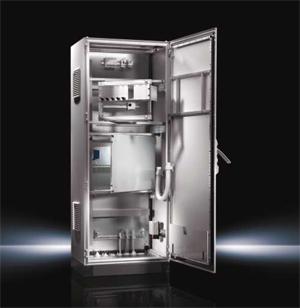 Ритал България: Важно преимущество на шкаф-системите на Rittal, серия TS8, e в простота на решенията и 3D логиката