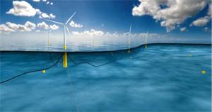 Най-големият плаващ вятърен парк в света ще бъде изграден в Шотландия