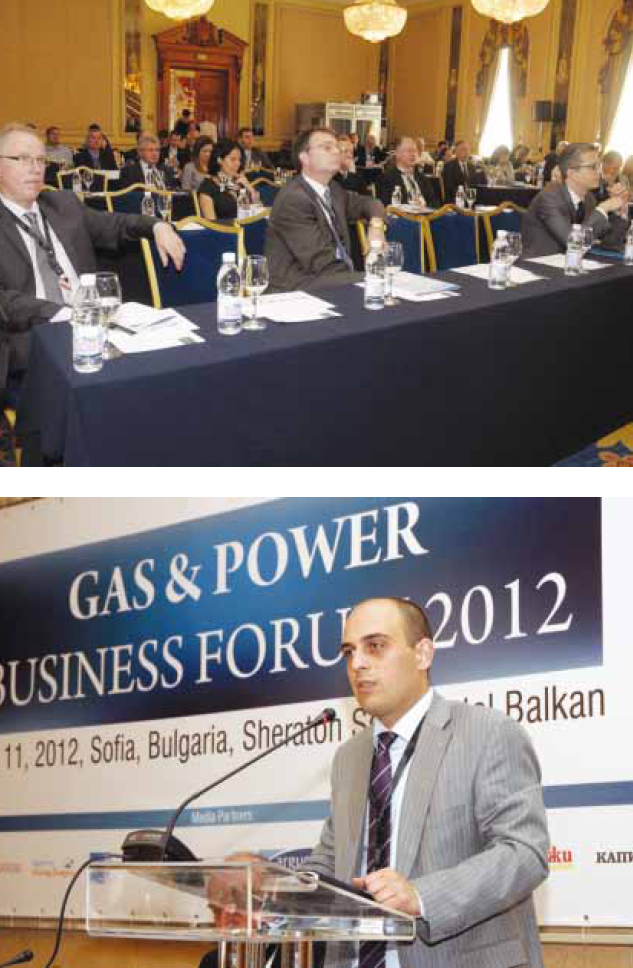 Проведе се Gas & Power Business Forum 2012