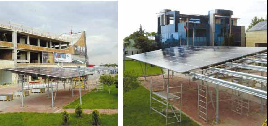 ПРОФИЛ-И изгради соларна инсталация върху покривна паркингова конструкция