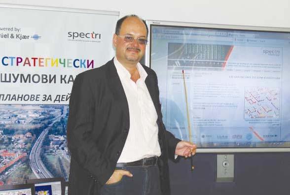 Интервю с инж. Борис Михайлов, управител на фирма СПЕКТРИ