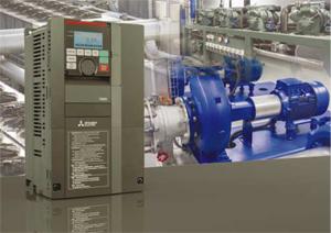 Ехнатон: Новият инвертор от серията FR-F800 - надеждност, интелигентност и спестени разходи при помпи, вентилатори и компресори
