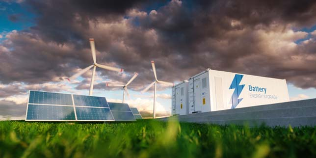 Свързани към мрежата системи за съхранение на енергия